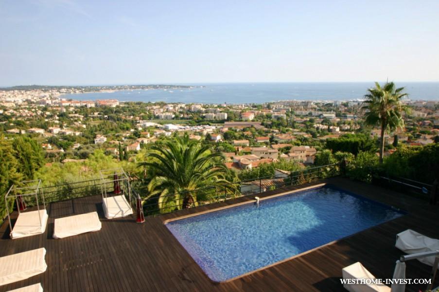 Вилла в Ницце с видом на море
