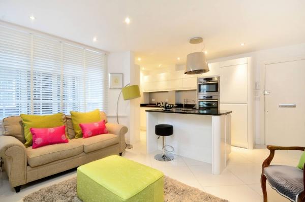 Аренда очаровательных апартаментов в Блумсбери с одной спальней