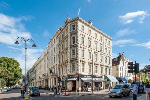Современная квартира в Лондоне с двумя спальнями